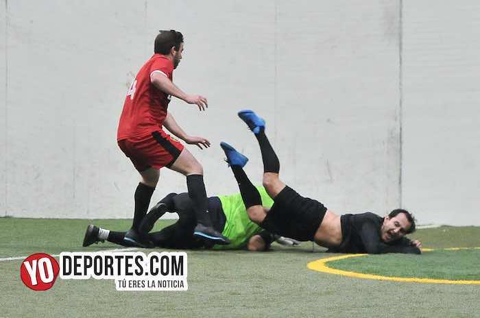 Valencia-Boca Jr-Champions-Liga Latinoamericana-semifinal Chicago Indoor