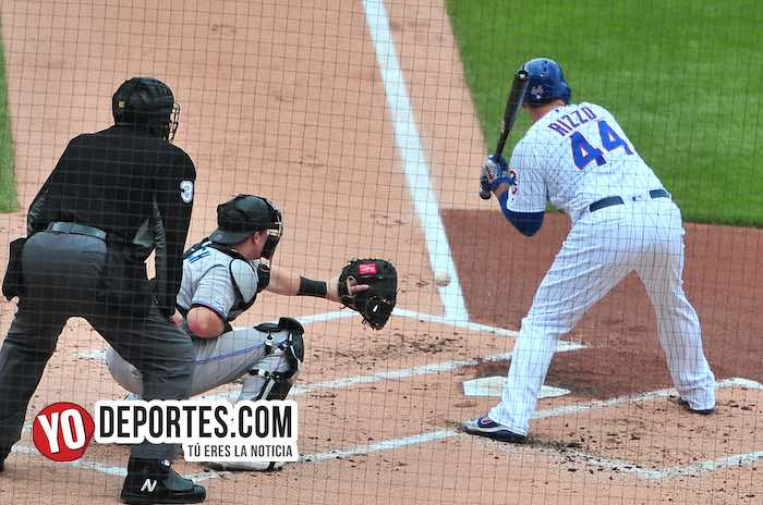 Anthony Rizzo primera base de los Chicago Cubs
