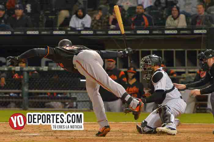 Anthony Santander-Chicago White Sox-Orioles Baltimore