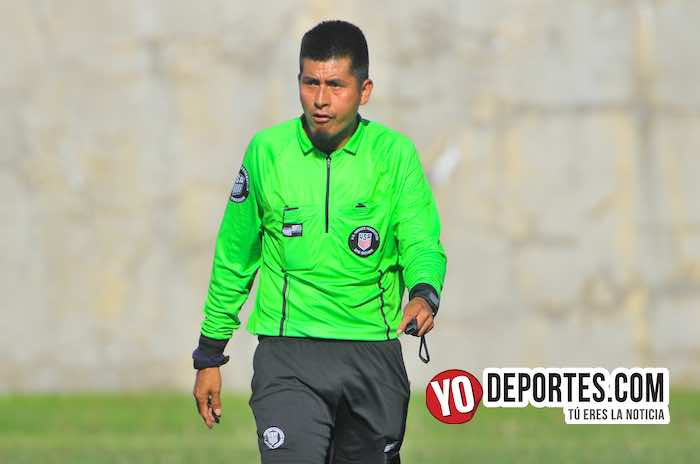 Arbitro Arturo Hernandez-San Rafael-Liverpool-CLASA League