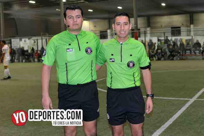 Arbitro Duardo Cruz-Erick del Rosario-Liga 5 de Mayo