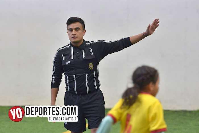 Arbitro Marco Gonzalez El Tiburon- Douglas Kids-Deportivo 59-Liga Douglas Kids-Final