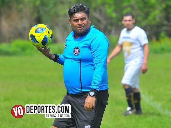 Arbitro Miguel Gutierrez-Chicago Nestle-Deportivo Hidalgo