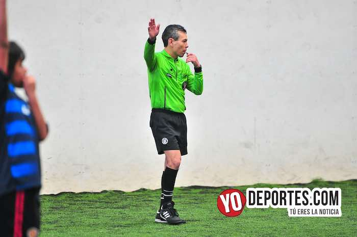Arbitro Rey Delgado-La Villita-Jarochos-Liga Douglas Kids