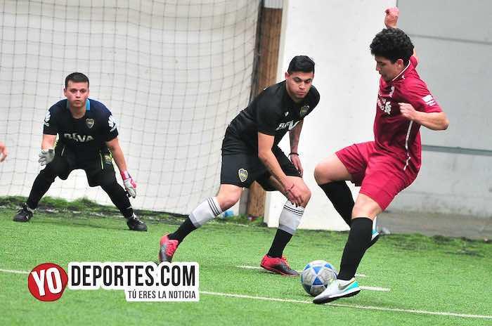 Boca Jr-Galeana-Supercopa de los Martes-Liga Douglas Indoor 35 y California Chicago