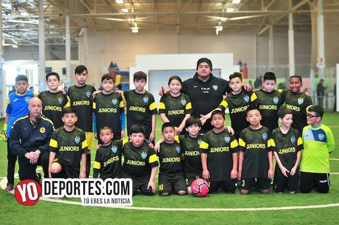 Boca Juniors a paso firme en la Liga Douglas Kids