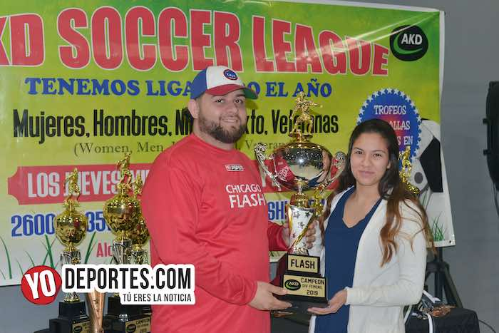Campeones Chicago Flash-Atletico L-AKD Soccer League