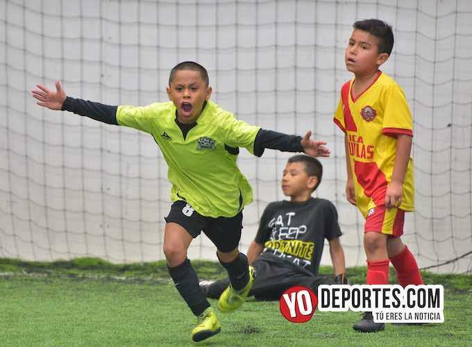 Guerreritos campeones 2010 en la Liga Douglas Kids