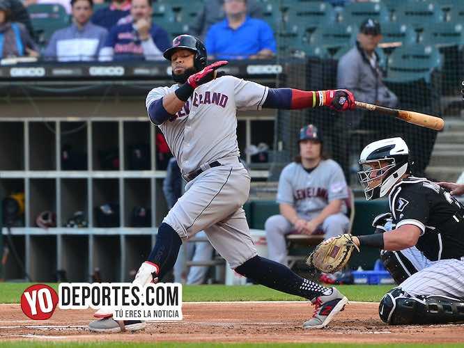Carlos Santana-White Sox-Cleveland Indios