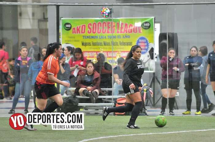 Chicago Flash-Atletico L-AKD Soccer League final femenil Chicago