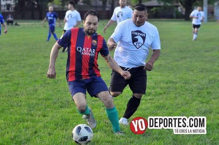 Cuervos FC-La Chona-Liga Jalisco Zendejas-Chicago Futbol Veteranos