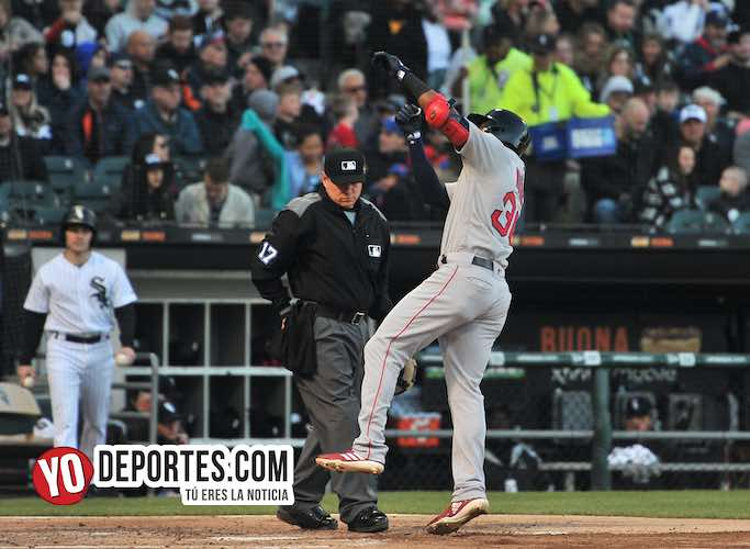 Eduardo Nunez-Chicago White Sox-Boston Red Sox