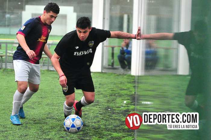 Gerardo Nene Ortiz-Boca Jr-Galeana-Supercopa de los Martes-Liga Douglas