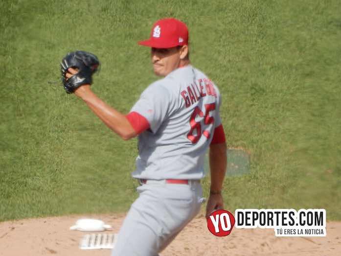 Giovanny Gallegos-Chicago Cubs-Cardenales San Luis