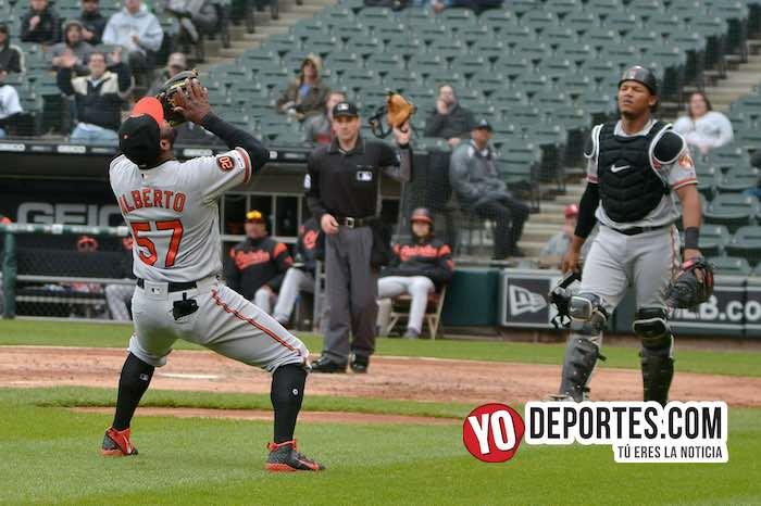 Hanser Alberto-Pedro Severino-White Sox-Orioles Baltimore-Guaranted Rate Field