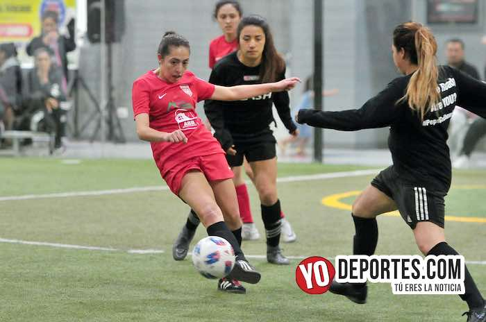 Indiana Hammond Girls-Midwest Panthers-Flash-AKD Soccer League mujeres futbolistas
