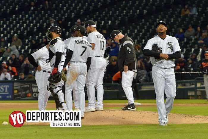 Ivan Novoa-Rick Renteria-Chicago White Sox-Orioles Baltimore-juego