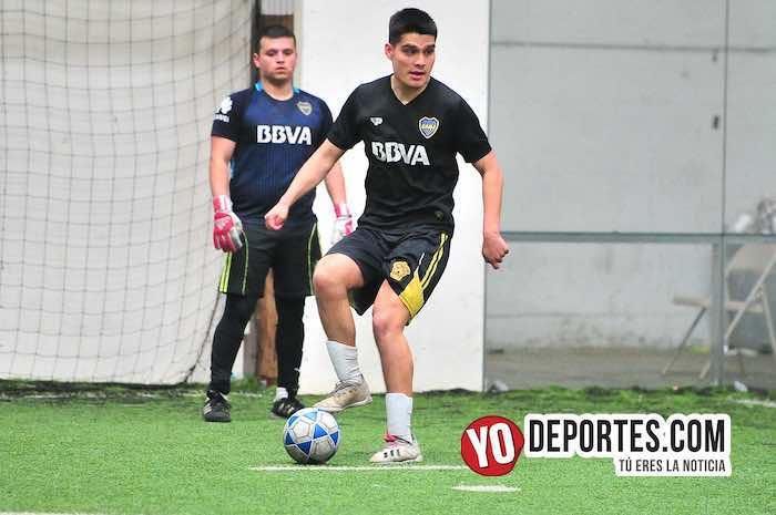Jaime Alonso-Boca Jr-Galeana-Supercopa de los Martes-Liga Douglas