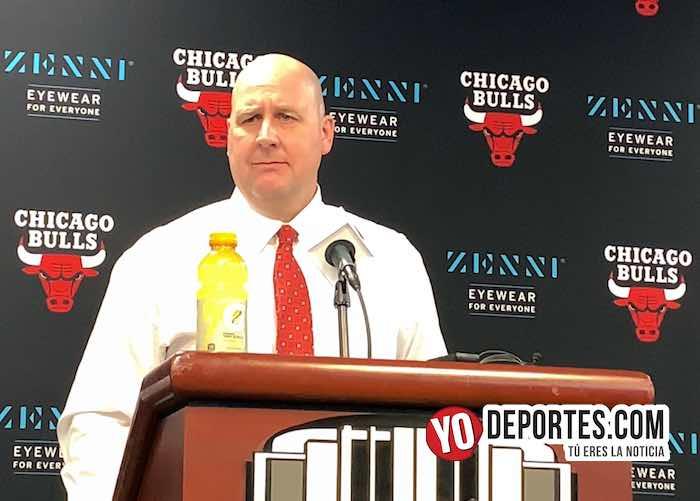 Los Bulls de Chicago renuevan contrato al coach Jim Boylen