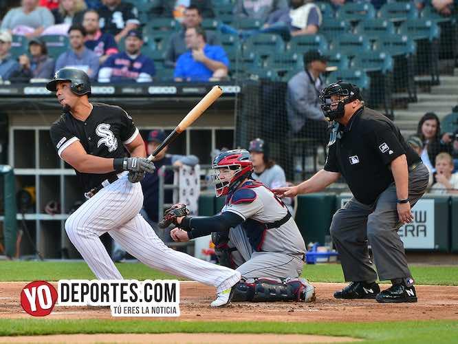 Jose Abreu-White Sox-Cleveland Indios