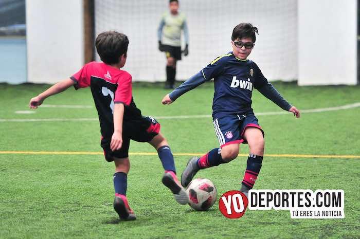 La Villita-Jarochos-Liga Douglas Kids Indoor Soccer Chicago