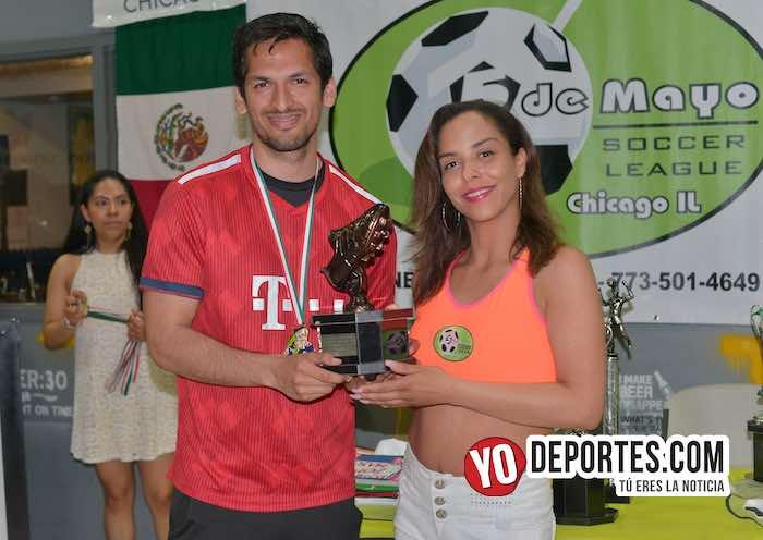 Victor Pineda Campeon de goleo Morelos-Liga 5 de Mayo-Final Mayor