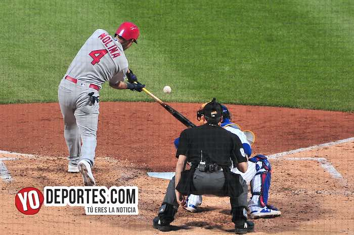 Yadier Molina-Chicago Cubs-San Luis Cardenales