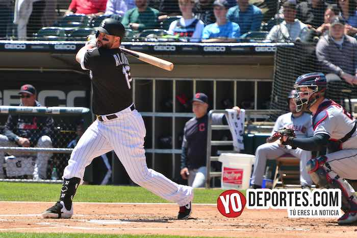 Yonder Alonso-Chicago White Sox-Indios Cleveland
