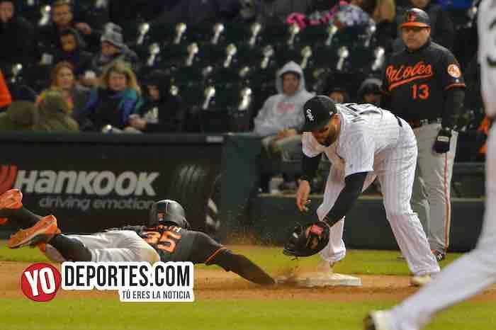 White Sox dividen triunfos con Orioles de Baltimore