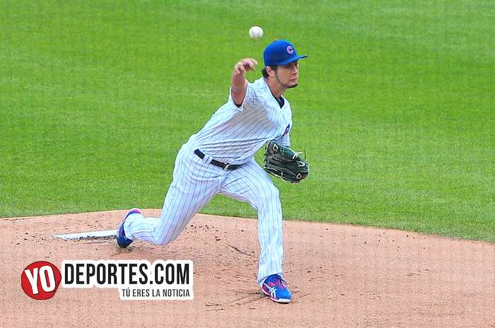 Yu Darvish-Chicago Cubs-Miami Marlins