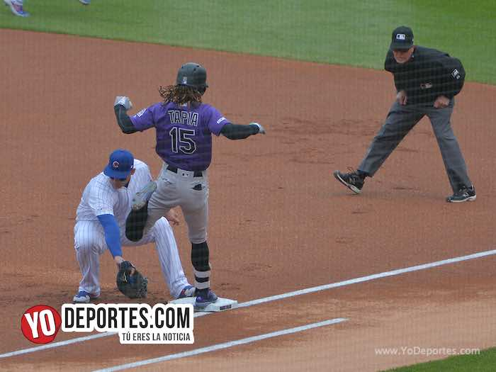 Anthony Rizzo-Raimel Tapia-Chicago Cubs-Colorado Rockies