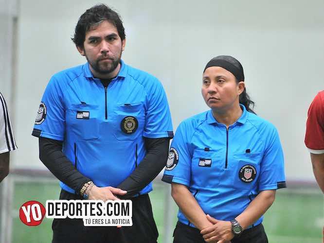 Arbiotro Alvaro Cortina-Rosalba Luna-Renamix-Boca Jr-Final Supercopa de los Martes Liga Douglas