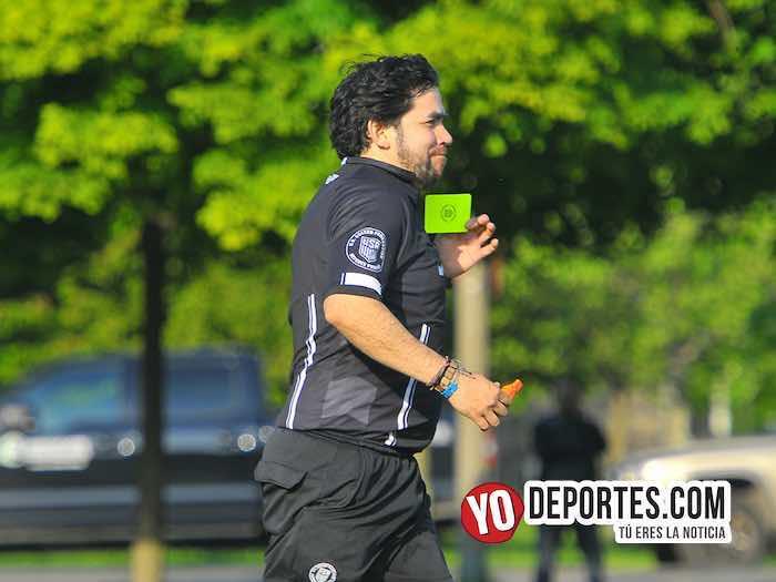 Arbitro Alvaro Cortina-Honduras-Zacatepec-Liga Douglas