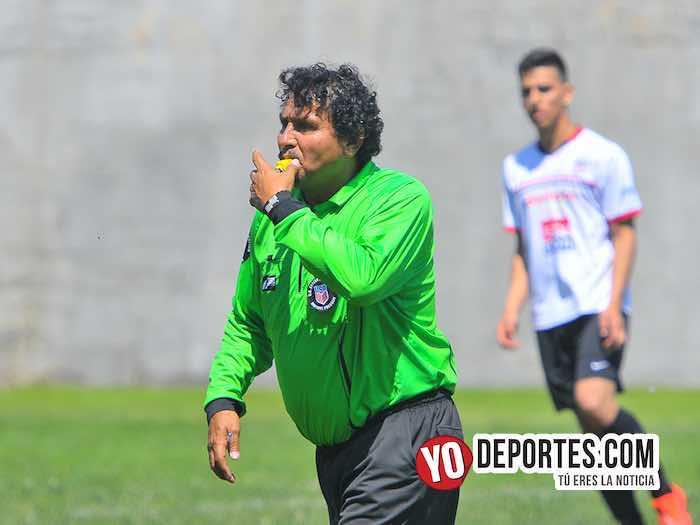 Arbitro Arturo Torres-Irapuato-Iramuco-Liga Victoria Ejidal
