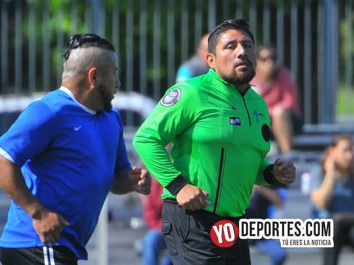 Arbitro Gio Gonzalez-Red Fire-Deportivo Guanajuato-Liga Latinoamericana