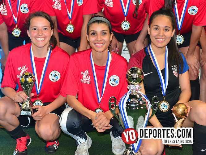 CD Fénix campeonas de los lunes en la Interamericana