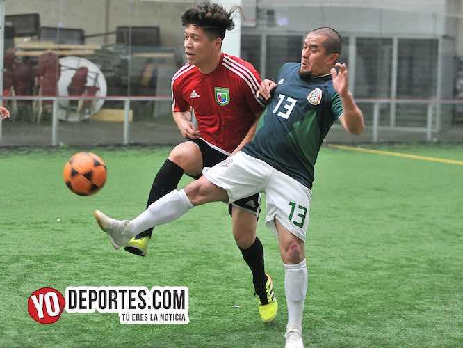 Fierro FC-Deportivo Hidalgo-Supercopa de los Martes Liga Douglas-Soccer Chicago