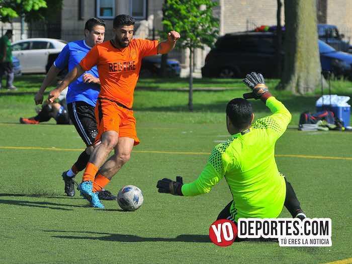 Red Fire-Deportivo Guanajuato-Liga Latinoamericana Chicago futbol
