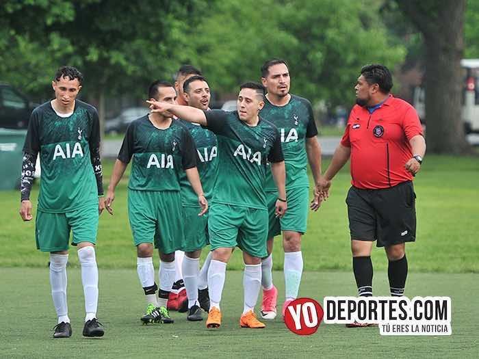 Tormentoso empate entre Pumas Chicago y León en la Liga Douglas