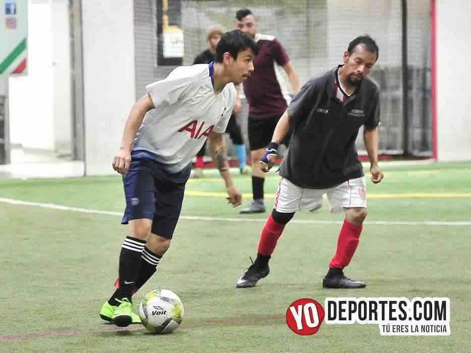 Tottenham-Callejoneros-Liga 5 de Mayo-Yodeportes