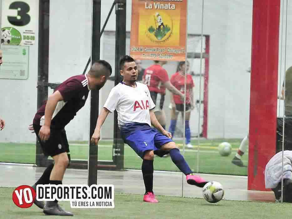 Tottenham-Callejoneros-Liga 5 de Mayo futbol indoor
