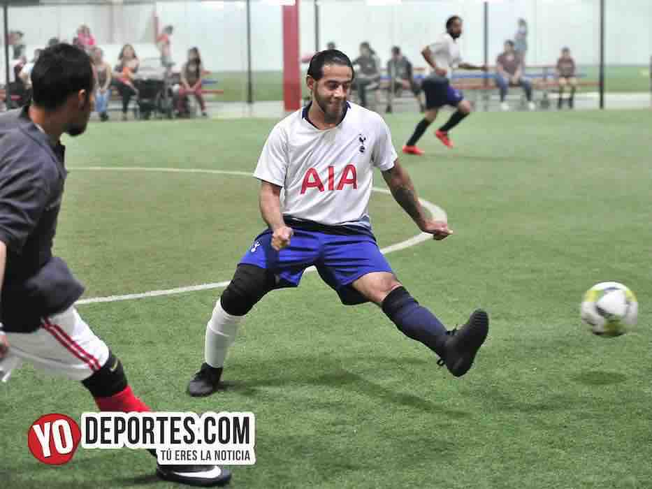 Tottenham-Callejoneros-Liga 5 de Mayo