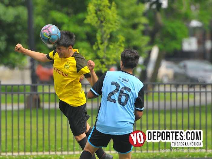 Valle Durango-Mineros-Liga Douglas Kids Futbol soccer Chicago