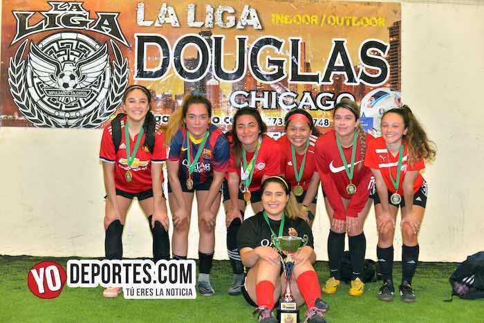 Yasminas se coronan en la Supercopa Femenil de Chicago