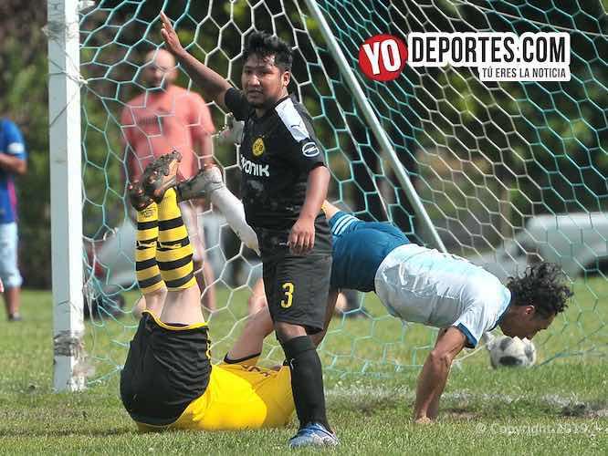 Iguala divide en doble jornada de la Douglas Premier futbol