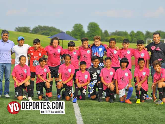 Tuzos Chicago debutan ganando en torneo Alfa International Cup