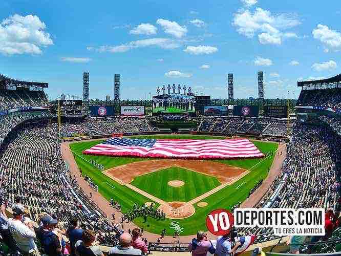 Detroit evita la limpia del 4 de julio ante Medias Blancas. Bandera de Estados Unidos.