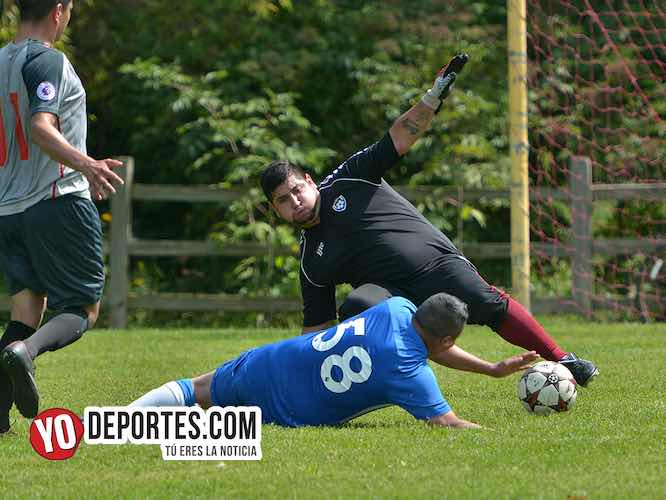 El Clásico entre Cuitzeo y Real Chupícuaro acaba en empate en la 5 de Mayo
