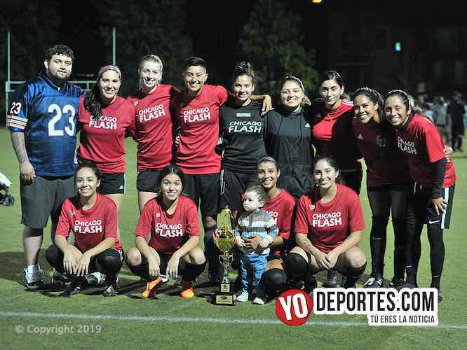Campeonísimas Chicago Flash en la AKD Soccer League