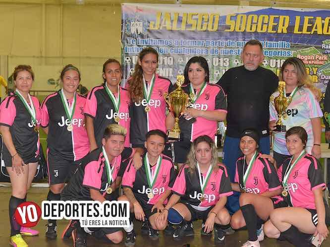 Razzmatazz las campeonas de la Liga Jalisco